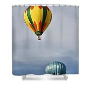 Summer Balloons Shower Curtain