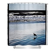 Summer Beach Shower Curtain by Perry Webster