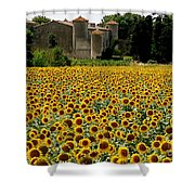 Summer Bliss Shower Curtain by France  Art