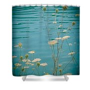 Summer By The Lake 2 Shower Curtain