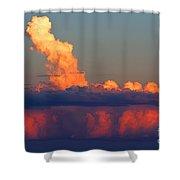 Summer Cauldron Shower Curtain
