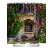 Summer Cottage Shower Curtain