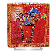 Summer Dance Shower Curtain