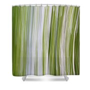 Summer Day Abstract Shower Curtain