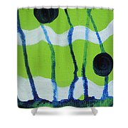 Hot Summer Day Shower Curtain
