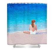 Summer Dreams Shower Curtain