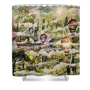 Summer Eden Shower Curtain