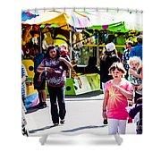 Summer Fair-12 Shower Curtain