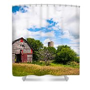 Summer Farm Shower Curtain