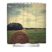 Summer Field Of Dreams Shower Curtain