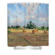 Summer Fields In Georgetown On Shower Curtain
