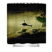 Summer Flying Shower Curtain
