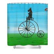Summer Fun Scotty Style Shower Curtain