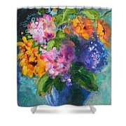 Summer Happiness Shower Curtain