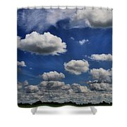 Summer Horizon Shower Curtain