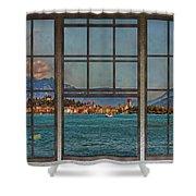 Summer Imagination Shower Curtain
