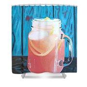 Summer In A Mug Shower Curtain