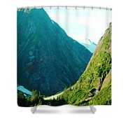 Summer In Alaska Shower Curtain