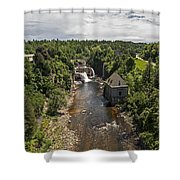 Summer In Asuable Chasm Shower Curtain