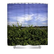 Summer In Bridgehampton Shower Curtain