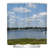 Summer In New England Shower Curtain