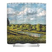 Summer In Tennessee Shower Curtain