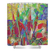 Summer In The Meadow Shower Curtain