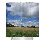 Summer Iowa Prairie Shower Curtain
