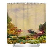 Summer Joy Shower Curtain by Hannibal Mane