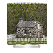Summer Kitchen In Spring - Colonial Stone Shower Curtain