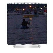 Summer Lake Evening Wait Shower Curtain