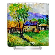 Summer Landscape 316062 Shower Curtain