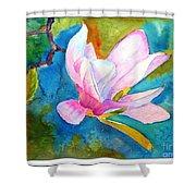 Summer Magnolia Shower Curtain