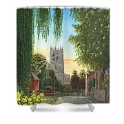 Summer Morning St. Mary Shower Curtain