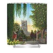 Summer Morning St. Mary Shower Curtain