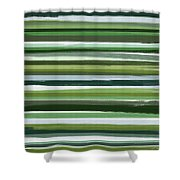 Summer Of Green Shower Curtain