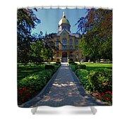Summer On Notre Dame Campus Shower Curtain