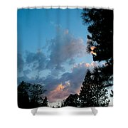 Summer Paradise Sunset Shower Curtain