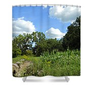 Summer Scenery Shower Curtain