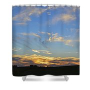 Summer Sets Panorama Shower Curtain