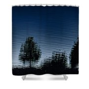 Summer Silhouette Shower Curtain