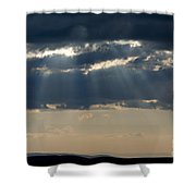 Summer Storm Clouds Shower Curtain