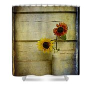 Summer Sunflowers Shower Curtain
