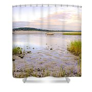 Summer Sunrise At Little Neck Shower Curtain