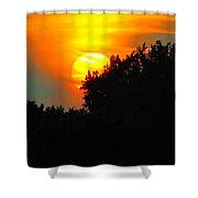 Summer Sunset #3 Shower Curtain