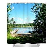 Summer Sweet Spot Shower Curtain