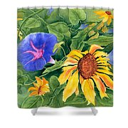 Summer Tango Shower Curtain