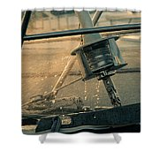 Summer Time On The Boat Shower Curtain