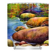 Summer Tranquility Shower Curtain