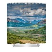 Summer Valley Shower Curtain